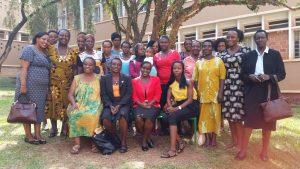 Uganda project group members